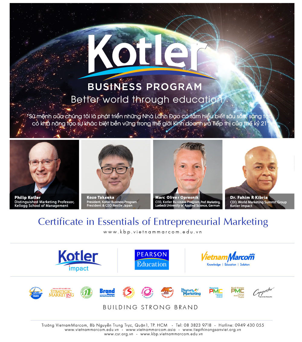 Khóa học Kotler Business Program
